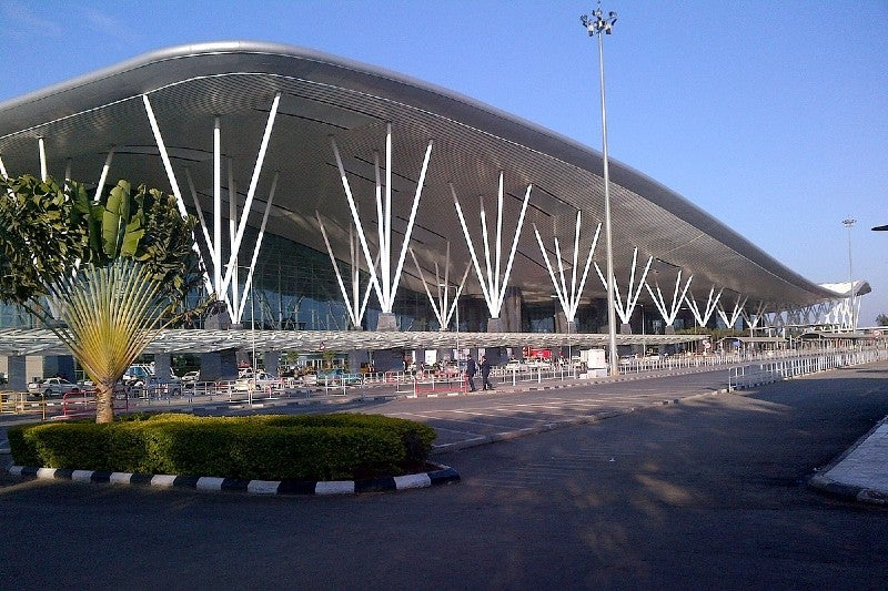 Kempegowda International Airport is located in Devanahalli, 40km outside of Bengaluru. Credit: sarang.
