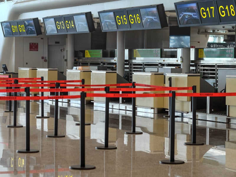 Wuhan Tianhe Airport was temporarily closed for the majority of air traffic following an outbreak of the deadly Coronavirus in January 2020.