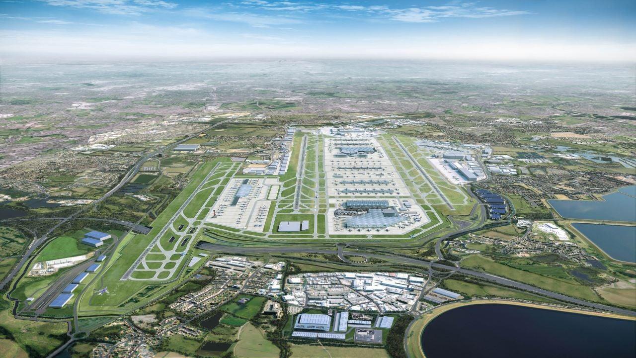Image 1-London Heathrow Airport Terminal 2 Redevelopment