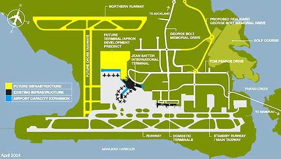 Auckland International Airport expansion