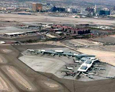 The major projects included an eleven-gate expansion to the satellite 'D' concourse.