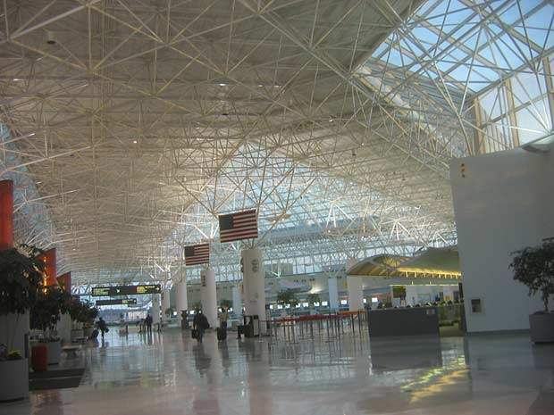 The interior of Baltimore-Washington International Airport.