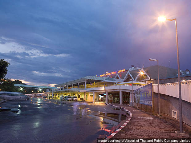 Phuket International Airport is located in Phuket in Thailand.
