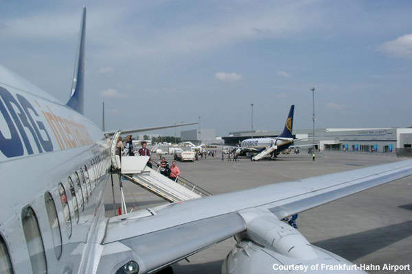 Frankfurt-Hahn Airport now has the facilities and capacity to serve eight million passengers a year.
