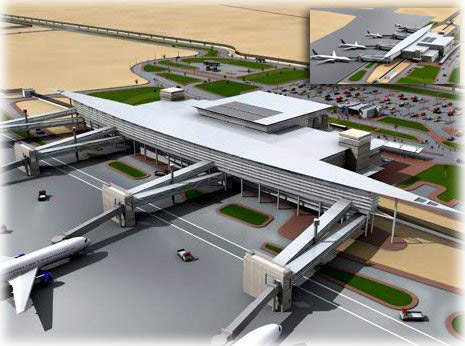The Borg El Arab Airport modernisation project, which was completed in 2009, expanded the airport's passenger and cargo terminals.