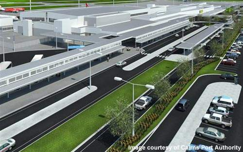 Cairns Airport is going through a major redevelopment project.