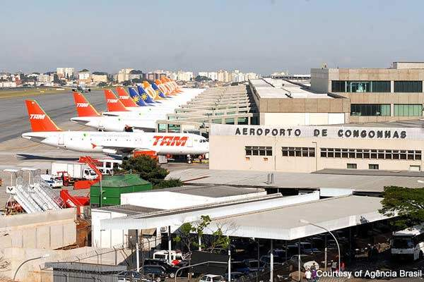 Congonhas International Airport is the third-busiest airport in the world in terms of cargo and freight.