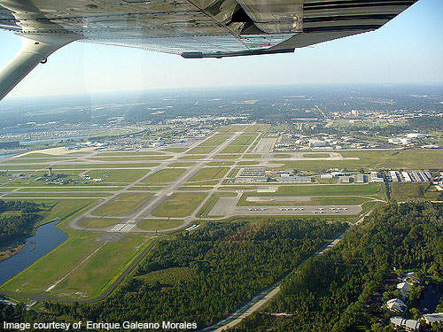 Daytona Beach International Airport is located 5km away from the Daytona Beach in Volusia County, Florida, US.