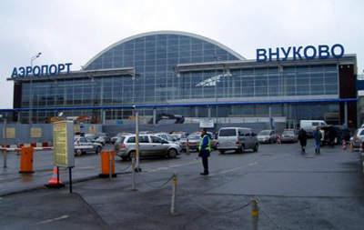 The domestic terminal at Vnukovo International Airport.