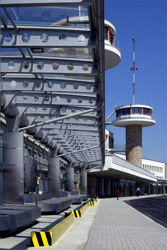 The original Terminal 1 was demolished in 2004 to make way for a new Terminal.