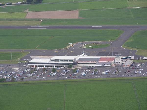 Dunedin International Airport is located 20km away from the city of Dunedin in the Otago region on the South Island of New Zealand. Image courtesy of Andrewrutherford.