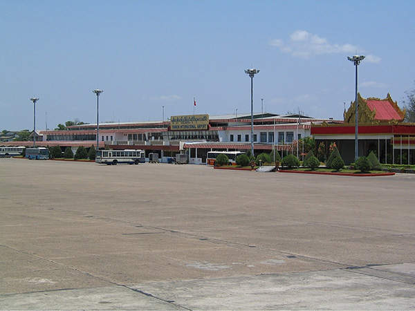 Yangon International Airport is the second major airport in Myanmar. Image courtesy of M Radzi Desa.
