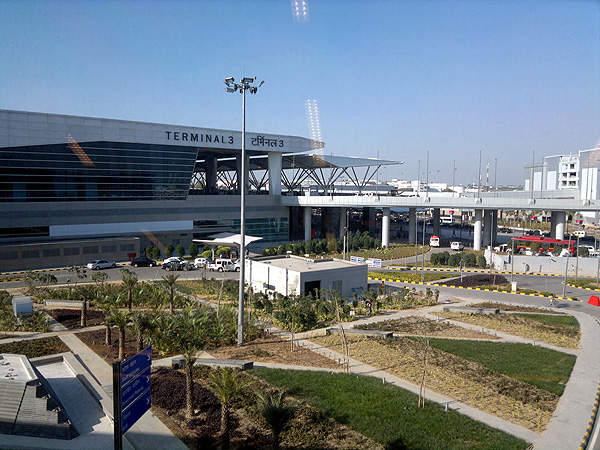 Terminal 3 at the Indira Gandhi International Airport was opened in July 2010. Credit: Ramesh NG.
