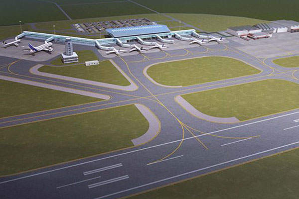 The new terminal will cover an area of 16,000 square metres.