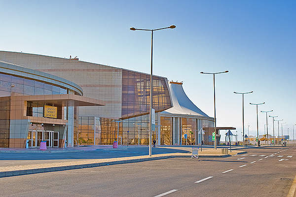 Terminal one of Sharm El Sheik International Airport was opened in 2007. Image courtesy of arch2452.