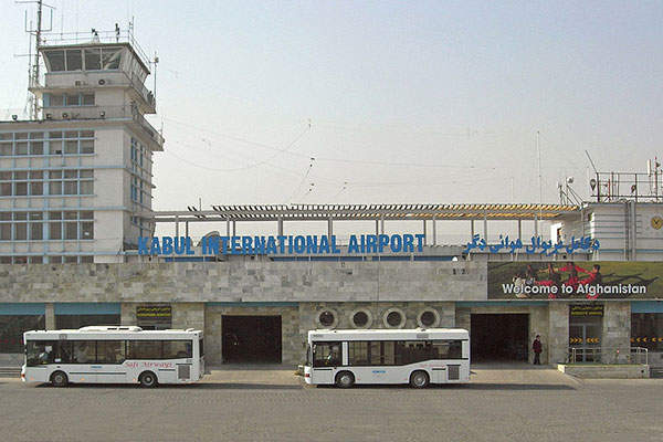 Kabul international airport is one of the main airports in Afghanistan. Image courtesy of Carl Montgomery.