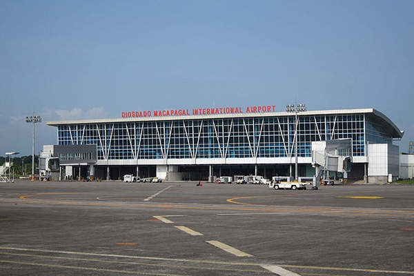 The terminal building at the Clark International Airport after phase one expansion in 2010. Image courtesy of Josh Lim.