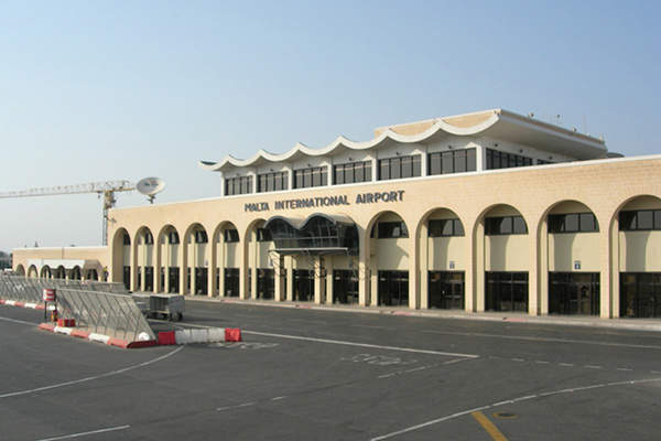 Malta International Airport is the only international airport serving the Republic of Malta. Image courtesy of The Gentle.