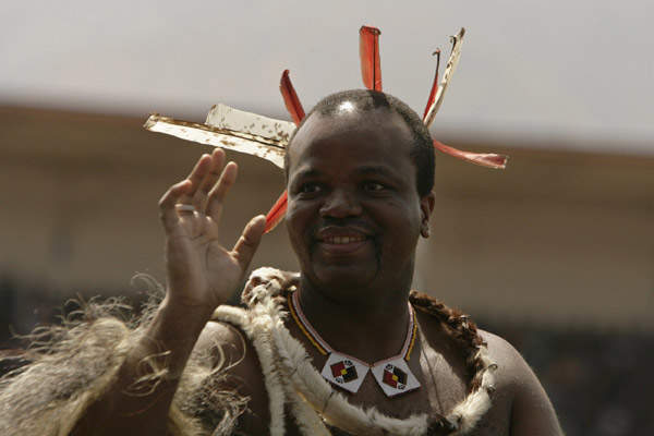 Sikhuphe International Airport is being built as part of King Mswati III's $1bn millennium project.