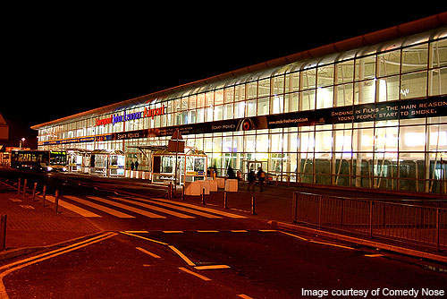 Liverpool John Lennon International Airport (JLA) is the tenth busiest airport in UK.