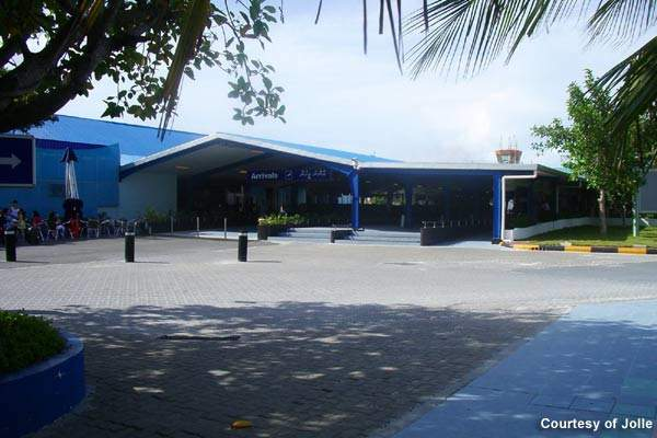 Malé International Airport (MLE) (previously known as Hulhule Airport) is the main international airport of the Maldives.