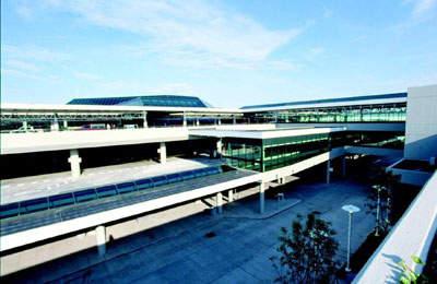 Nashville International Airport terminal building.