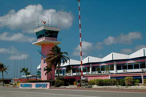 Bonaire International Airport, also known as Flamingo International Airport, is located 3.5km from Kralendijk, the capital city of Bonaire Island in the Netherlands Antilles.