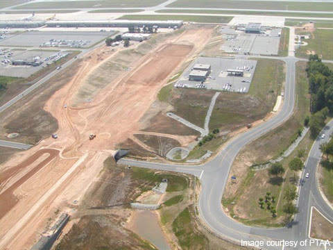 The third PTI runway complements the new FedEx hub.