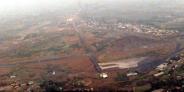 Aerial View of Roberts International Airport