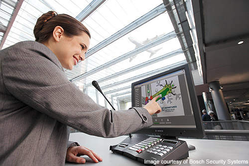 Safe Airports Public Address And Voice Alarm Systems