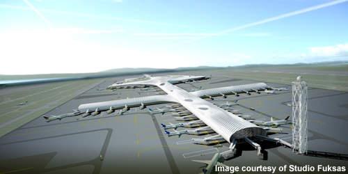 Shenzhen Airport T3 will resemble a cross.