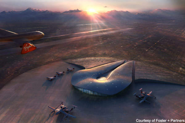 Spaceport America will form a base for Virgin Galactic.