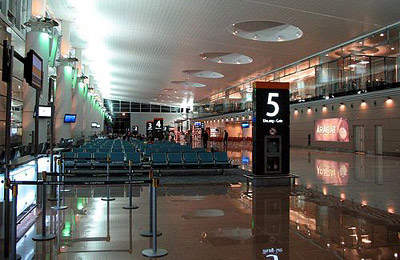 The new terminal gate areas. Over 34 airlines operate from the Yerevan-based airport and fly to 60 routes around the world.
