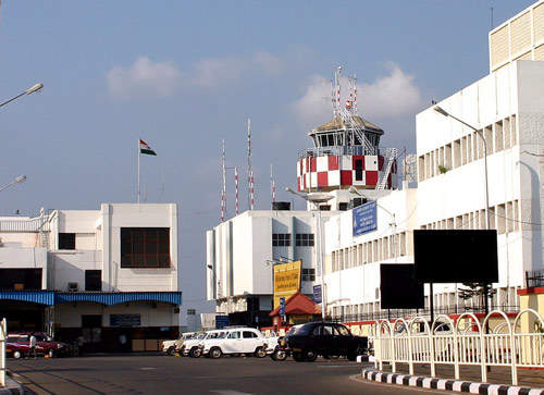 Trivandrum International Airport is located in the state's capital city of Thiruvananthapuram, 3.7km west of the centre of the city, in a 583-acre campus.