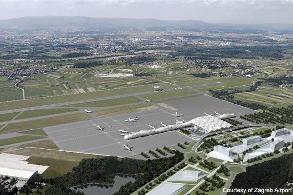 Zagreb Airport has enjoyed unprecedented success over that last few years with growth of 14% a year.