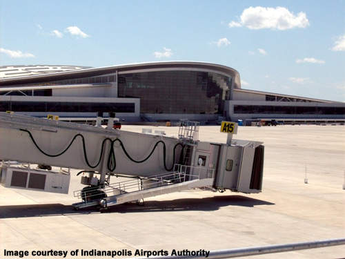 One gate in each concourse will be reserved for international flights.