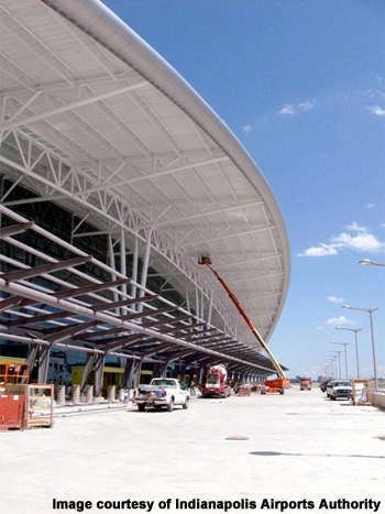 The new terminal will now double the airports capacity to 8.2 million passengers a year.