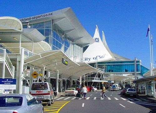 The Auckland International Airport terminal expansion was completed in 2001.