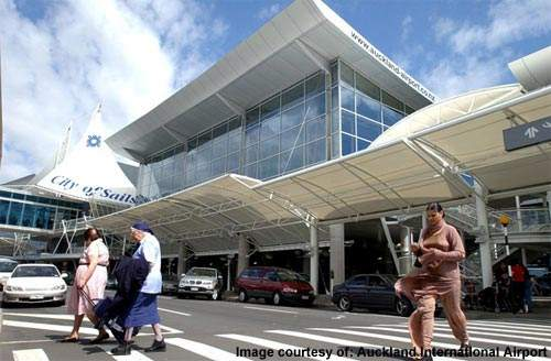 Auckland's international terminal is undergoing further expansion work.