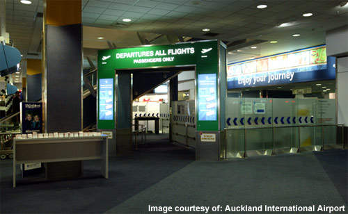 Security has been enhanced at Auckland Airport with the pier segregation project.