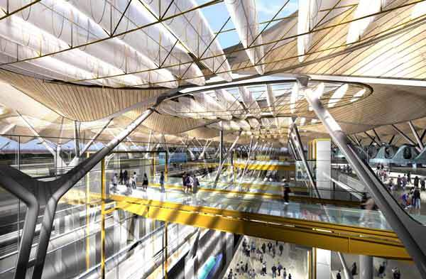 Madrid Barajas airport has embarked on a €2.91bn expansion programme.