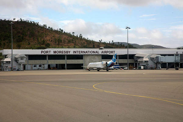 Port Moresby Jacksons International Airport is the biggest airport of Papua New Guinea. Image courtesy of Jialiang Gao.