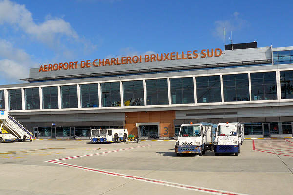 The new passenger terminal at the Brussels South Charleroi airport was opened in January 2008. Image courtesy of Fernandopascullo.