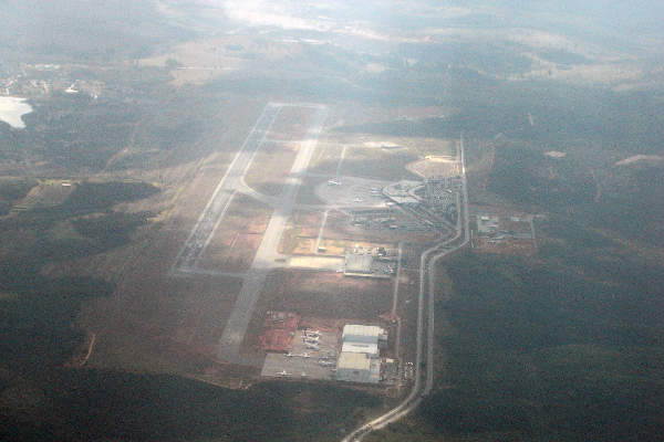 Tancredo Neves International Airport is located approximately 41km from downtown Belo Horizonte. Image courtesy of black_wall.