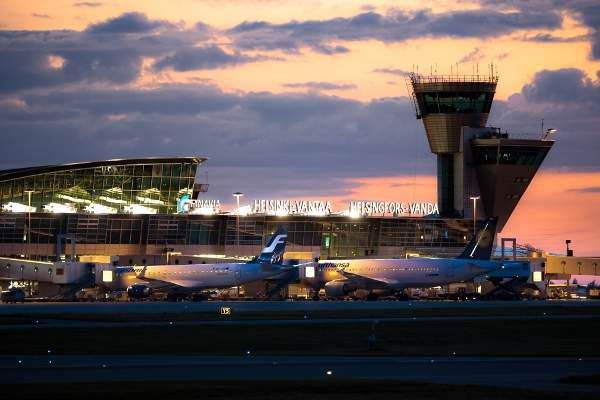 Helsinki Vantaa Airport is the biggest airport in Finland. Image courtesy of Finavia Corporation.