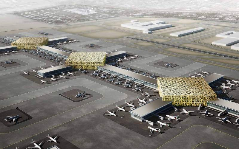 The major expansion at Al Maktoum international airport will increase the passenger capacity of the airport to 220 million a year.