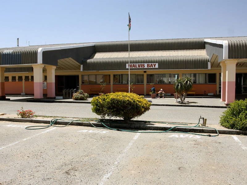 Walvis Bay International Airport is the second international airport in Namibia. Image courtesy of TravelingOtter.