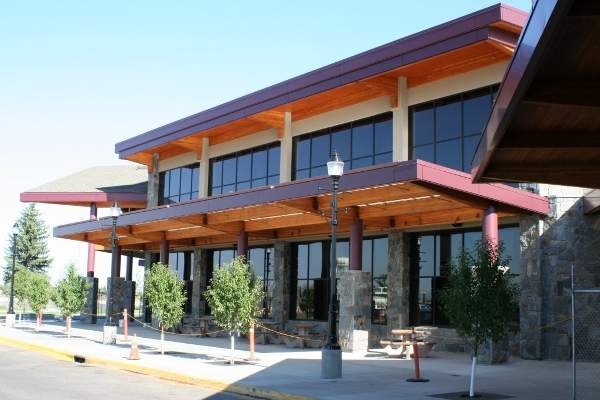 The terminal building at Bozeman Yellowstone International Airport is equipped with state-of-the-art technology.