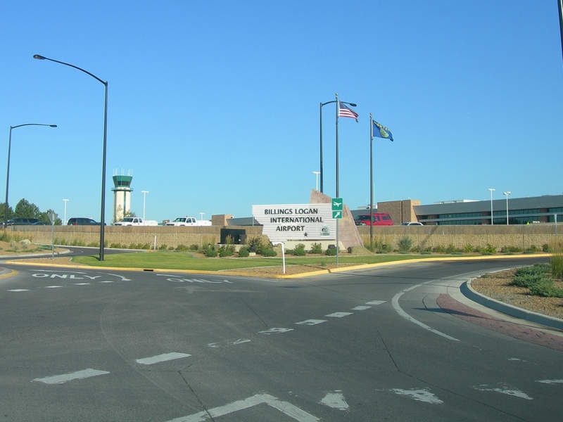 Billings Logan International Airport is located in the city of Billings, Montana, US. Image courtesy of Jimmy Emerson, DVM.
