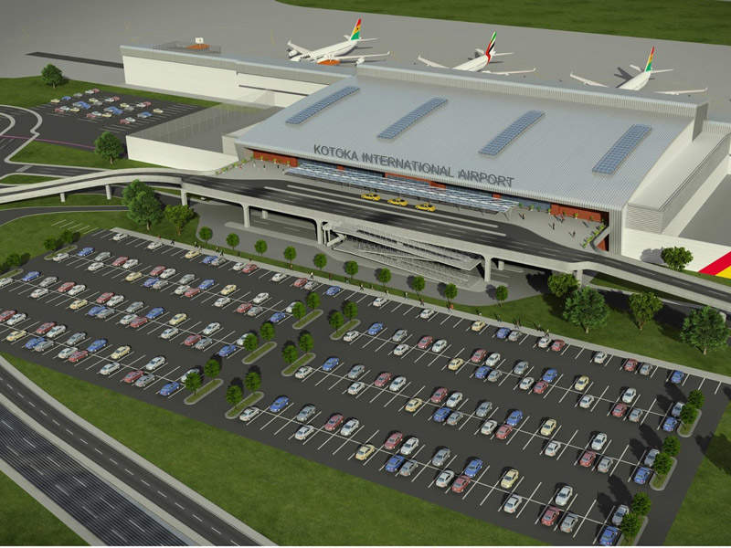 Kotoka International Airport underwent a major transformation project that involved the construction of a new passenger terminal. Credit: Ghana Airports Company Limited (GACL).